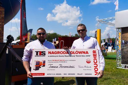 """Rolnik Roku 2016"" z nagrodą od TIS Group"