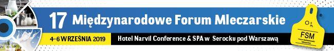 Handel produktami mleczarskimi jednym z tematów podczas  17 Międzynarodowego Forum Mleczarskiego