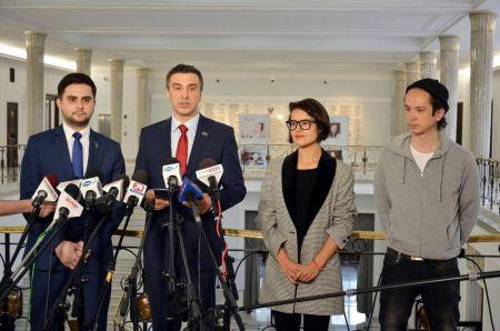 Projekt Kukiz'15.  Projekt ustawy o zmianie ustawy o bezpieczeństwie żywności i żywienia. N. Kaczmarczyk, J. Sachajko