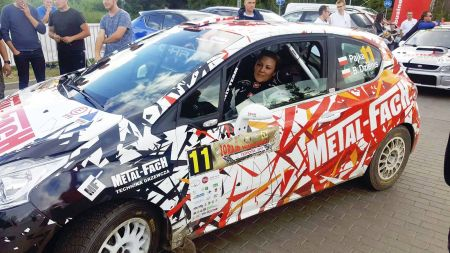 MF Pajka Rally Team na mecie Rajdu Warmińskiego