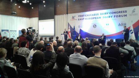 Przedstawiciel Polskiej Izby Mleka uczestniczy  w Kongresie Mleczarskim w Tbilisi