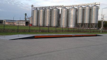 Waga samochodowa dla małych i dużych gospodarstw rolnych.