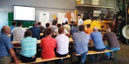 New Holland szkoli użytkowników maszyn żniwnych podczas Harvest Masters