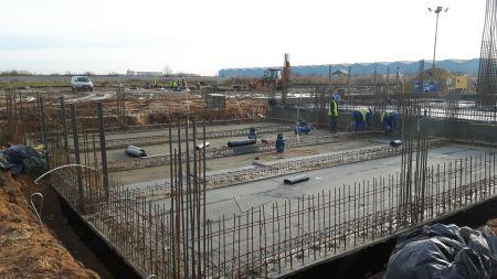 Budowa nowej wytwórni pasz w Ligocie Dolnej koło Kluczborka