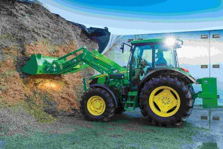 Innowacyjne rozwiązania z dużych ciągników zastosowane w traktorach o mocy około 100 KM
