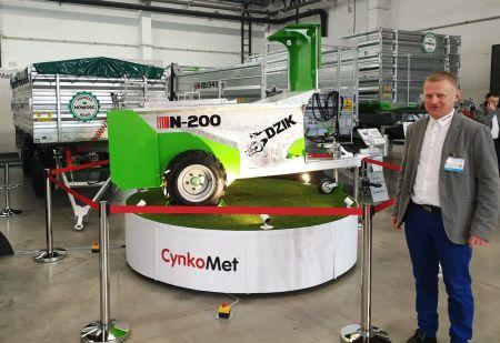 Cynkomet z innowacyjnymi maszynami na Agrotech 2019