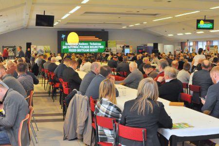Pierwszy dzień konferencji dotyczącej suszy w rolnictwie za nami