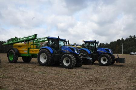 Efektywność z rolnictwem precyzyjnym PLM Marka New Holland zaprosiła na warsztaty