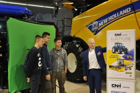 New Holland pokazał 11 maszyn Centralne Targi Rolnicze po raz drugi w Nadarzynie