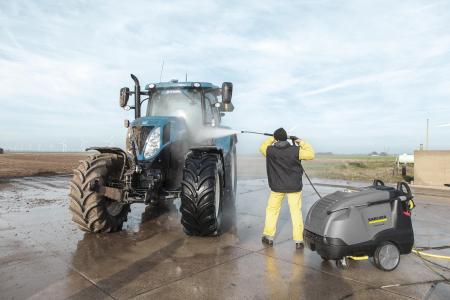 Urządzenia wysokociśnieniowe z podgrzewaniem wody sprawdzają się w rolnictwie