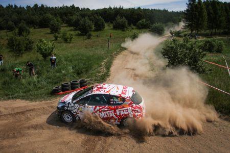 Pajka Rally Team w czołówce Rajdu Warmińskie Szutry 2017.