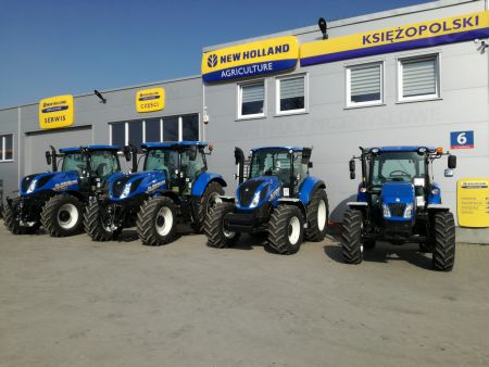 Nowy Dealer New Holland Agriculture Polska