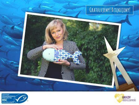 Katarzyna Żak, Ambasadorka MSC, laureatką Plebiscytu  Gwiazdy Dobroczynności