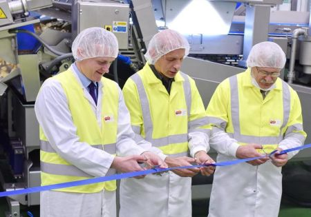 Otwarcie nowej linii produkcyjnej w zakładzie Frito Lay w Grodzisku Maz