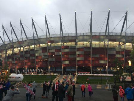 Drużyna Giganci Radymno zwycięska drużyna PROCAM Cup 2017 na meczu Polska- Kazachstan