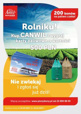 Plakat konkursu Plony i bony