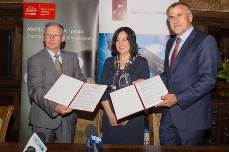 ANWIL zacieśnia współpracę z Wydziałem Chemicznym PŁ
