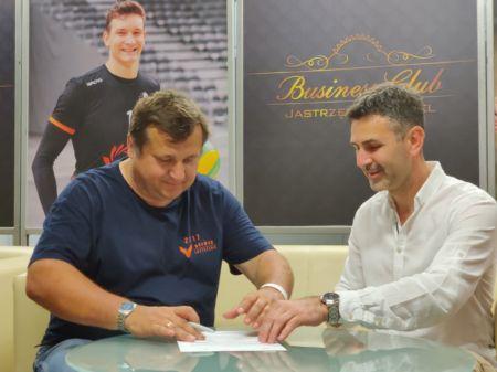Podpisanie porozumienia Browar Jastrzebie i PEC