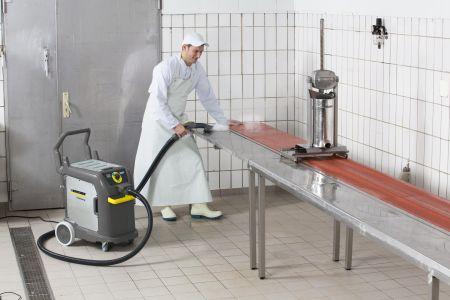 99,999% dezynfekcja profesjonalnymi urządzeniami do czyszczenia parą Kärcher