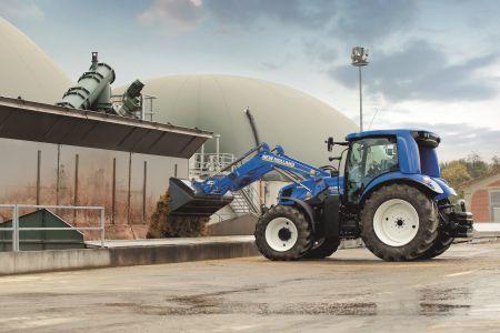 Prototyp ciągnika rolniczego New Holland T6 Methane Power zaznacza swoją obecność na targach SIMA 2017