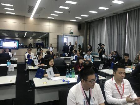 Unijna delegacja biznesowa odwiedziła targi SIAL China