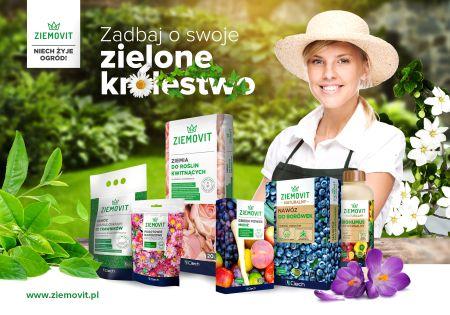 Przygotuj swój ogród na wiosnę - 26 nowych produktów w ofercie ZIEMOVIT!