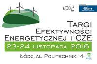 Targi Efektywności Energetycznej i OZE jesienią w Łodzi.