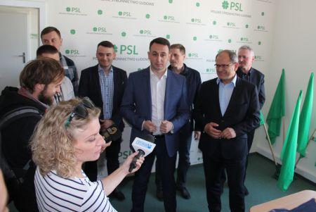 Konferencja PSL na temat trudnej sytuacji rolniów