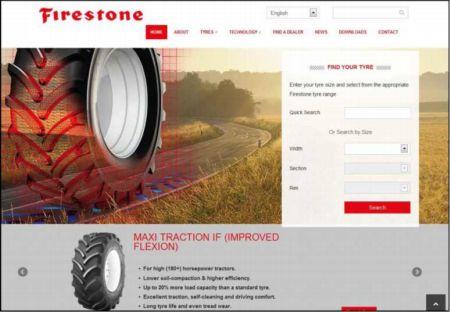 Firestone uruchamia w Europie nową stronę internetową  dla opon rolniczych