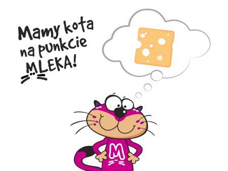 """""""Mamy kota na punkcie mleka"""" w trosce o dzieci"""