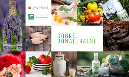 Kampania promująca naturalne produkty