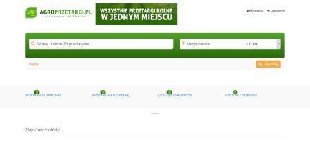 Ruszył portal przetargów rolnych Agroprzetargi.pl
