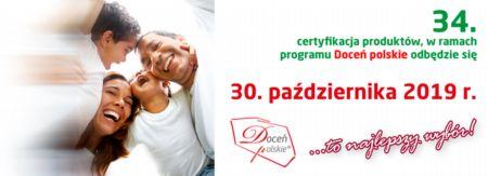 XXXIV certyfikacja żywności już 30 października. Wyroby polskich producentów żywności pojawią się w Sosnowcu