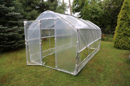 Zdrowie z własnego ogródka - Miniporadnik uprawy w tunelu foliowym