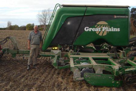 Z maszynami Great Plains po rekord świata w plonie jęczmienia