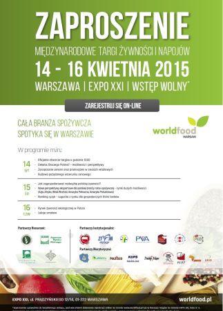 WorldFood Warsaw – zapraszamy!