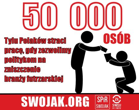 Oświadczenie SPiR SWOJAK w sprawie chęci zniszczenia przez polityków polskiej branży futrzarskiej.