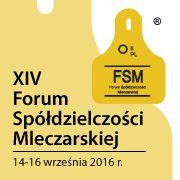 XIV Forum Spółdzielni Mleczarskiej