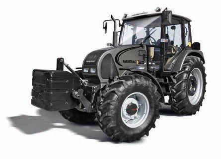 Ciągniki serii 7 firmy Farmtrac