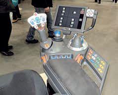 Fotel z prawym podłokietnikiem ciągnika FENDT
