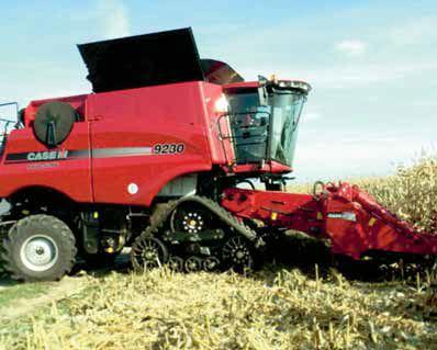 Pokazowy zbiór kukurydzy