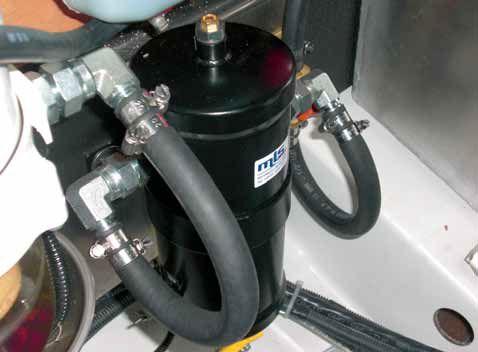 Oczyszczacze MLS do silników diesla