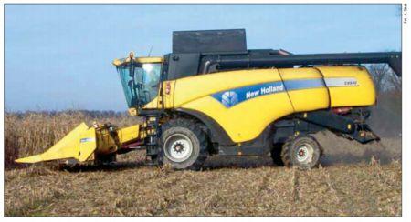 Zbiór i zagospodarowanie ziarna kukurydzy