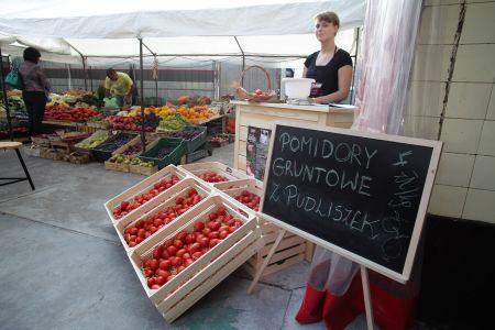 Pudliszkowe pomidory oraz kukurydza  już w ten weekend na warszawskim Targu Śniadaniowym