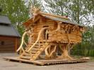 Ukraina. Produkcja domow z bali, montaz od 25 zl/m2, wiat drewnianych, garazy, sauny, altanek, roznych konstrukcji z drzewa. Oferta współpracy: Ukraiński producent domków drewnianych. Oferuję ws