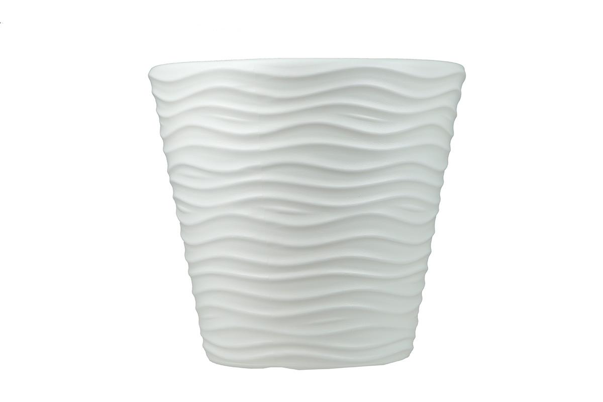 Doniczka Wave Biały Dbwa300 S449 12 L Bazar Rolny
